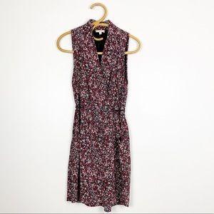 Aritzia | Wilfred | 100% Silk Floral Sabine Dress